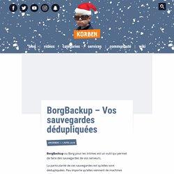 BorgBackup – Vos sauvegardes dédupliquées
