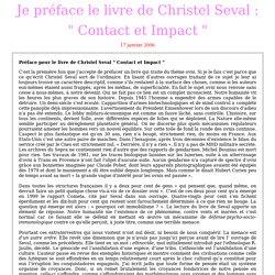 Un plan pour sauver la Terre, livre de Christel Seval