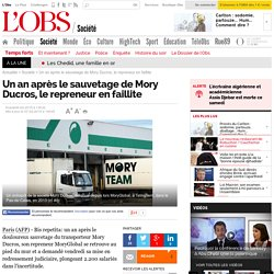 Un an après le sauvetage de Mory Ducros, le repreneur en faillite
