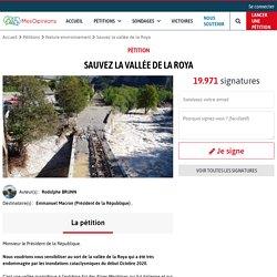 Sauvez la vallée de la Roya