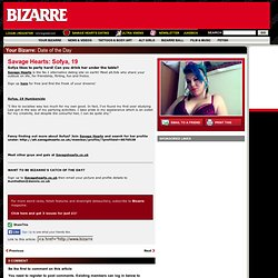 Savage Hearts: Catch of the Day! | Latest News | Weird News | Bizarre Magazine UK