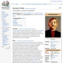 Savanyú Jóska – Wikipédia