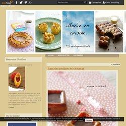 Savarins pralines et chocolat
