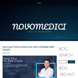 Save your Time & Extra Cost with a Reliable EMR System
