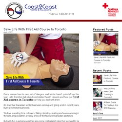 Save Life With First Aid Course In Toronto