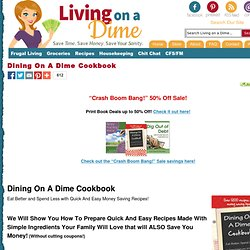 Save Money On Easy Recipes Your Family Will Love!