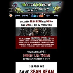The Save Sean Bean Campaign - RPC Comics