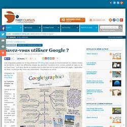Savez-vous utiliser Google ?