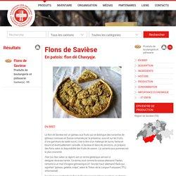 Flons de Savièse Patrimoine culinaire