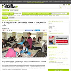 A Savigné-sur-Lathan les notes n'ont plus la cote - 14/03/2016