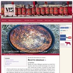 Le savillum selon Caton l'Ancien - Recette de dessert romain