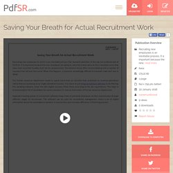 CareersUnbound – Employee Hiring Software
