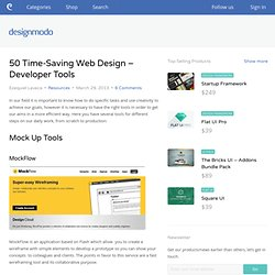 50 Time-Saving Web Design – Developer Tools