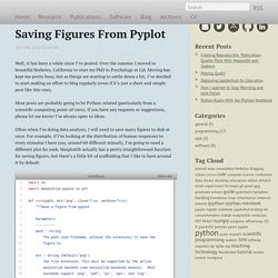 Saving Figures From Pyplot - Jessica Hamrick