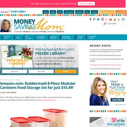 Money Saving Mom® :: Helping You Be a Better Home Economist