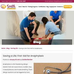 Saving a Life: First-Aid for Anaphylaxis