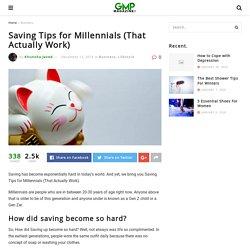 Saving Tips for Millennials (That Actually Work) – GMP!