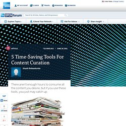 5 Time-Saving Tools For Content Curation