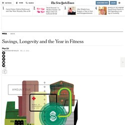 Savings, Longevity and the Year in Fitness