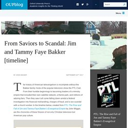 From Saviors to Scandal: Jim and Tammy Faye Bakker [timeline]