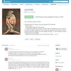 SAVITRI - Sri Aurobindo