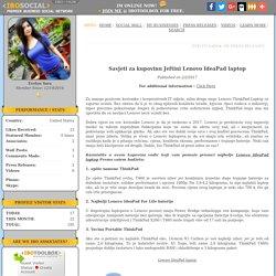 Savjeti za kupovinu Jeftini Lenovo IdeaPad laptop