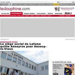 Le siège social de Lafuma quitte Anneyron pour Annecy-le-Vieux