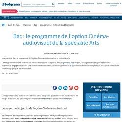 Bac 2021 : tout savoir sur l'option Cinéma-audiovisuel de la spécialité Arts