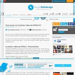 Tout savoir sur la balise video du HTML5 #1 - html5