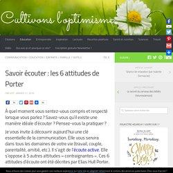 Savoir écouter : les 6 attitudes de Porter