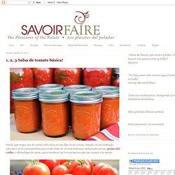 Salsa de tomate básica!