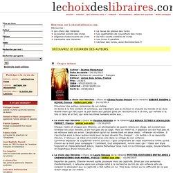 [blog libraires] Le choix des libraires (résumé, neutre)