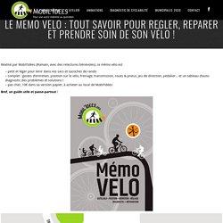 Le mémo vélo : tout savoir pour régler, réparer et prendre soin de son vélo !