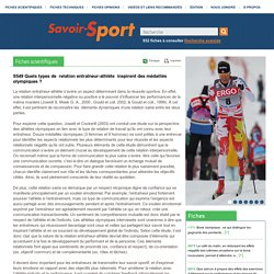 Savoir-Sport