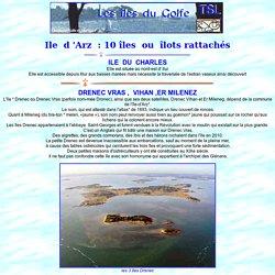 Ile d'Arz: iles associées drenec lerne illuric mouchiose spiren