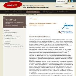 Blog et CDI