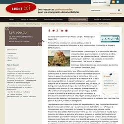 Traduction ( Dossier savoir CDI)
