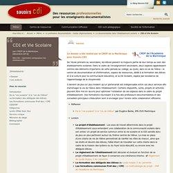 CDI et Vie Scolaire