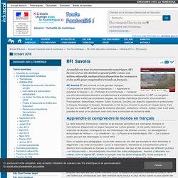 RFI Savoirs — Enseigner avec le numérique