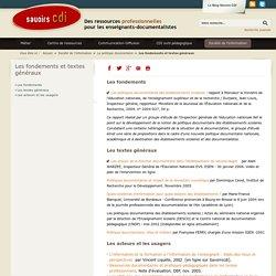 Poldoc Les fondements et textes généraux