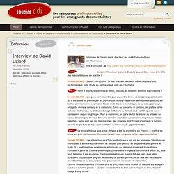 Interview de David Liziard