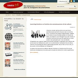 Learning Centres vs Centres de connaissances et de culture