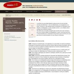 Savoirs CDI: Louise-Noëlle Malclès (1899-1977)