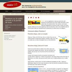 Savoirs CDI: Powtoon ou la vidéo animée à la portée de tous