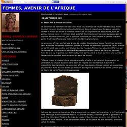 Le savon noir d'Afrique de l'ouest - FEMMES, AVENIR DE L'AFRIQUE