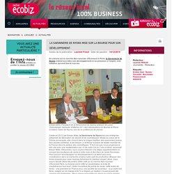 Drôme Ecobiz - La Savonnerie de Nyons mise sur la bourse pour son développement