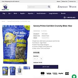 Savory Prime Cod Skin Crunchy Bites 16oz – Kwik Retail LLC