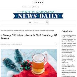 9 Savory NC Winter Beers to Keep You Cozy All Season