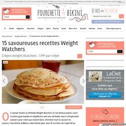 15 savoureuses recettes Weight Watchers