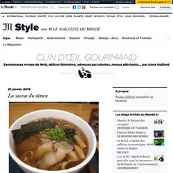 Clin d'oeil gourmand - Blog LeMonde.fr